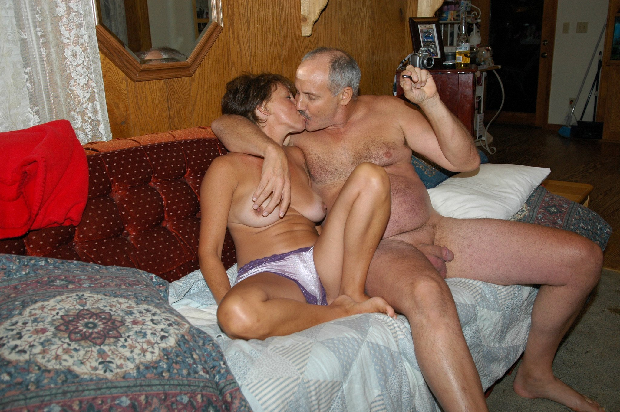 Mature Couple Seduce Teen And Girl Edging