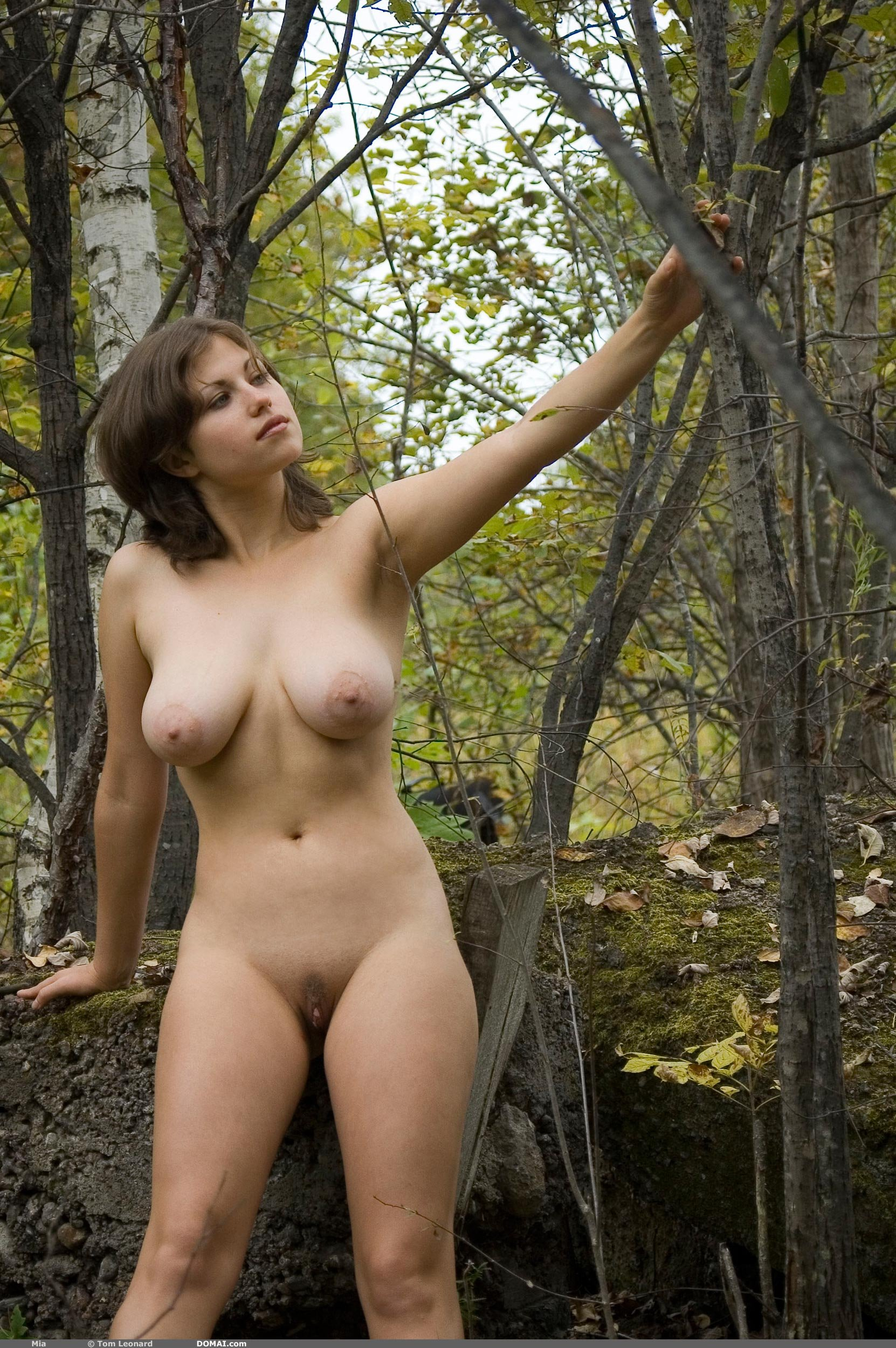 Nude girl forest pic exposed scene